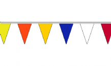 36 Multi Coloured Flag Bunting - 13m Long